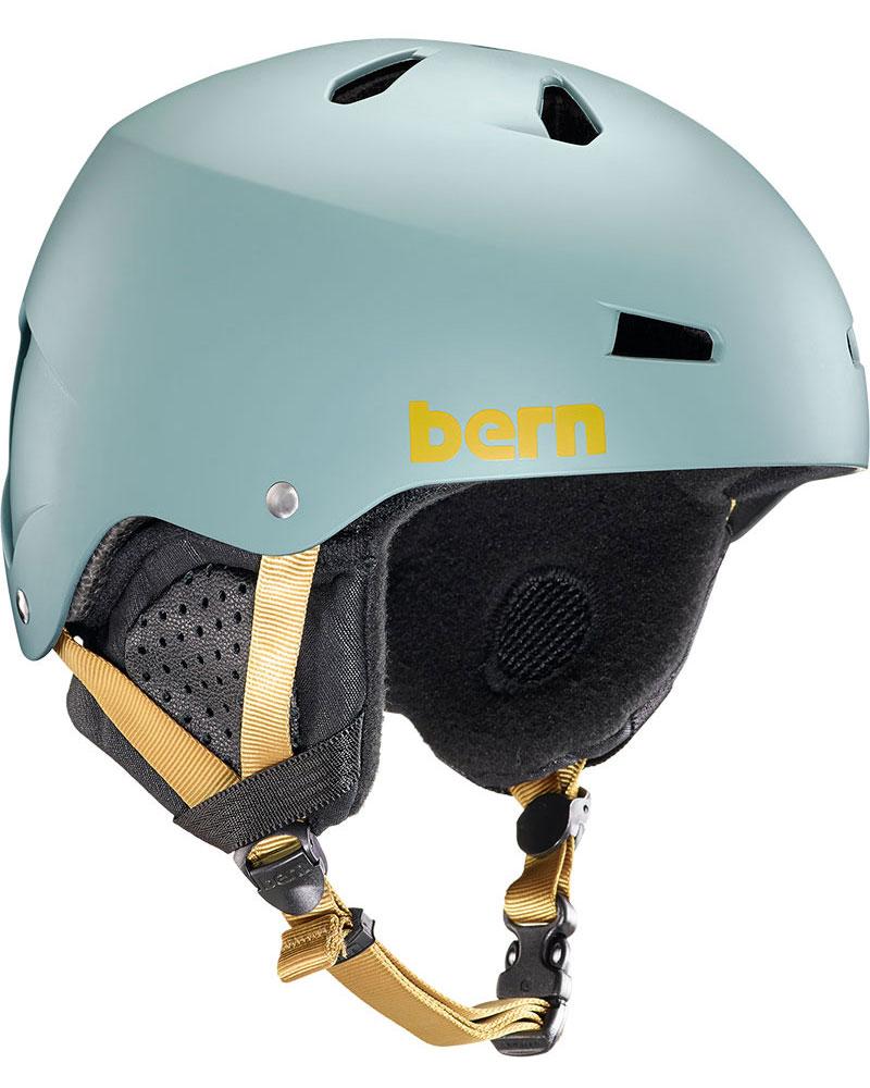 Bern Macon Snowsports Helmet 2019 / 2020 Matte Slate Green 0