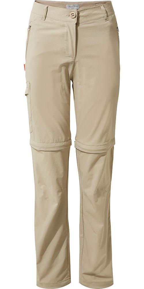Craghoppers Women's NosiLife Pro Convertible Pants Mushroom 0