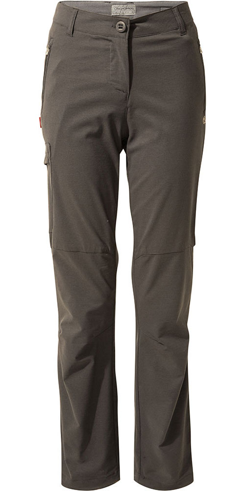Craghoppers Women's NosiLife Pro Trousers Short Leg Charcoal 0