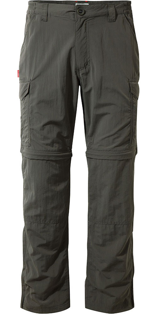 Craghoppers Men's NosiLife Convertible Pants Bark 0