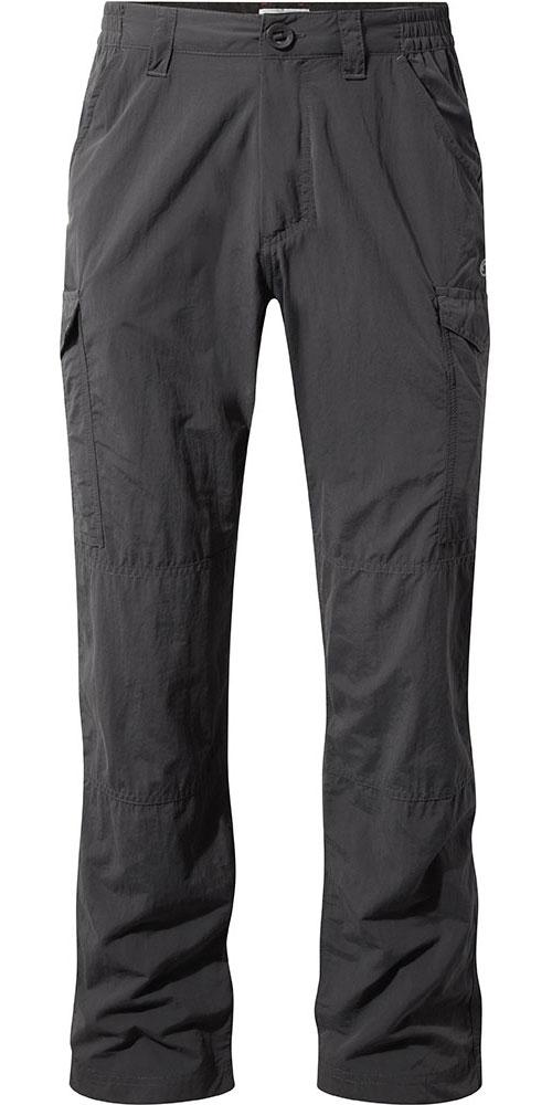 Craghoppers Men's NosiLife Cargo Trousers Black Pepper 0