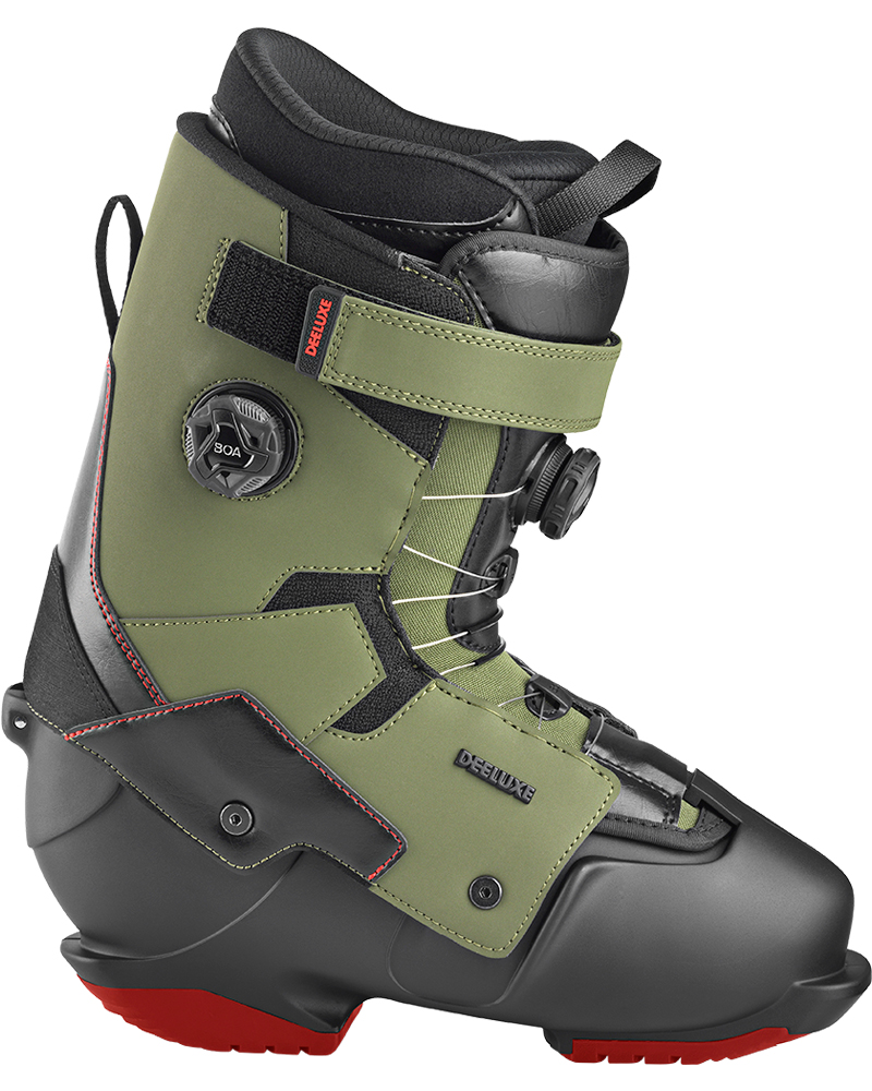 Deeluxe Men's Ground Control Double Boa Snowboard Boots 2019 / 2020 Army 0