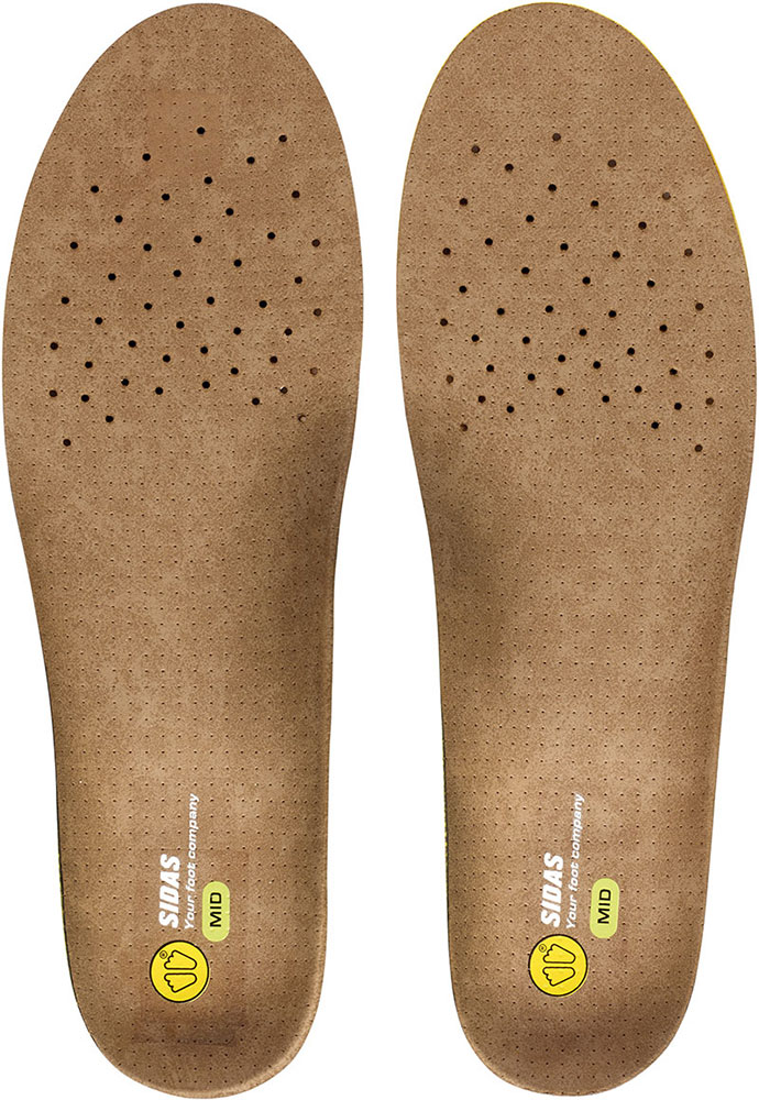 Sidas 3Feet Outdoor Mid Insoles 0