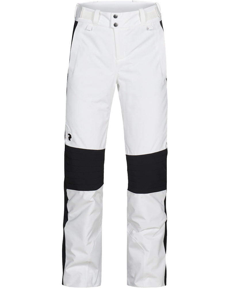Peak Performance Women's Lanzo Ski Pants Off White/Black 0