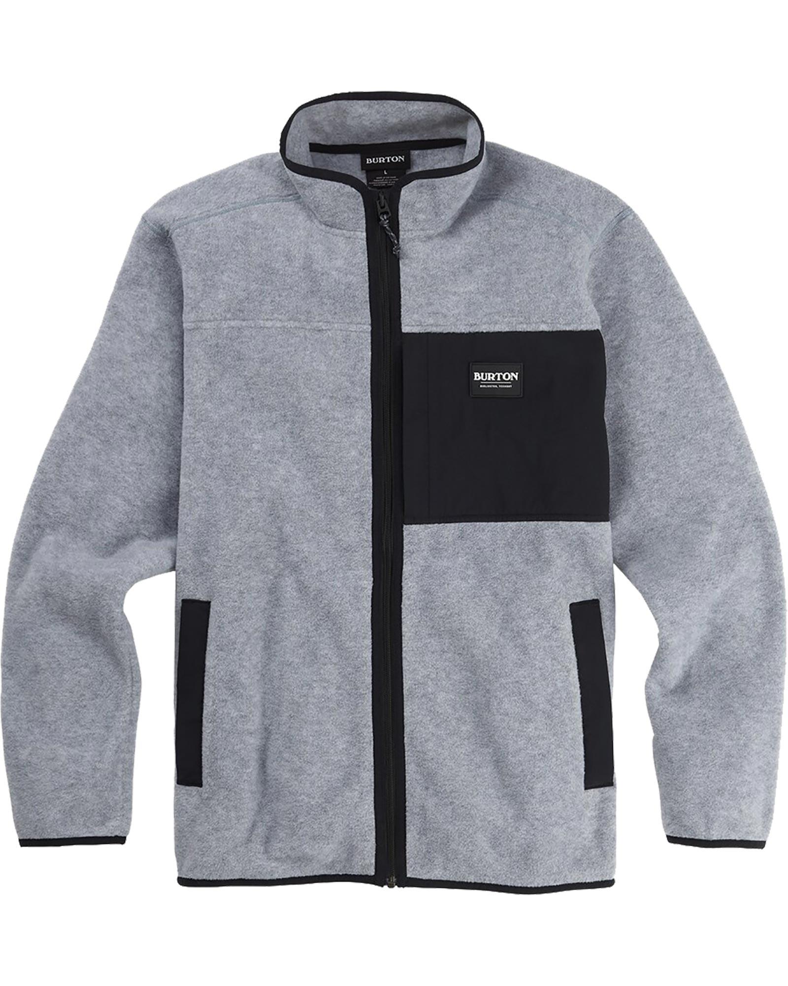 Burton Men's Hearth Full Zip Fleece 0