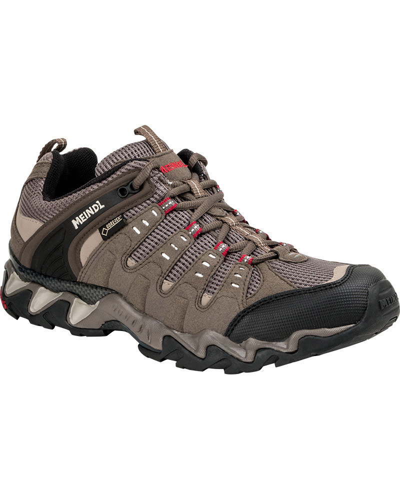 Meindl Men's Respond Low GORE-TEX Walking Shoes Reed/Red 0