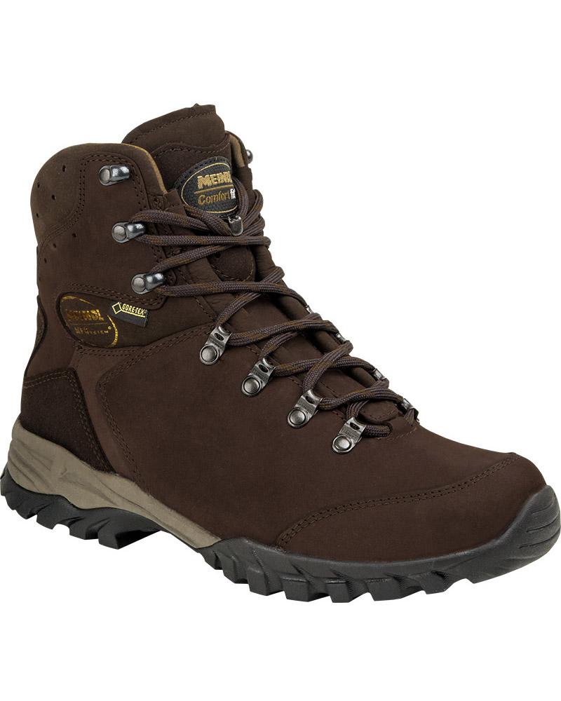 Meindl Men's Meran GORE-TEX Walking Boots Mahogony 0