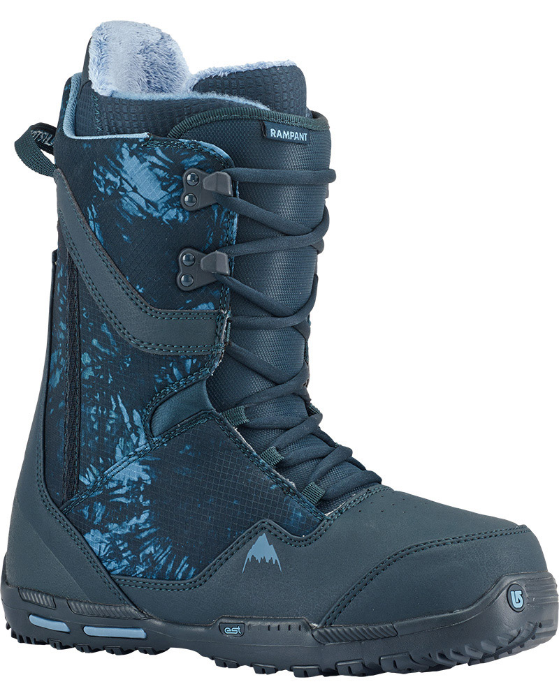 Burton Men's Rampant Snowboard Boots 2016 / 2017 Blue 0
