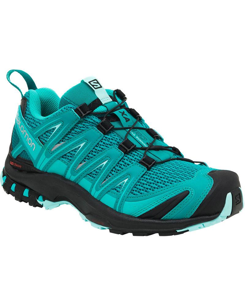 Salomon Women's XA Pro 3D Trail Running Shoes Deep Peacock Blue/Black/Aruba Blue 0