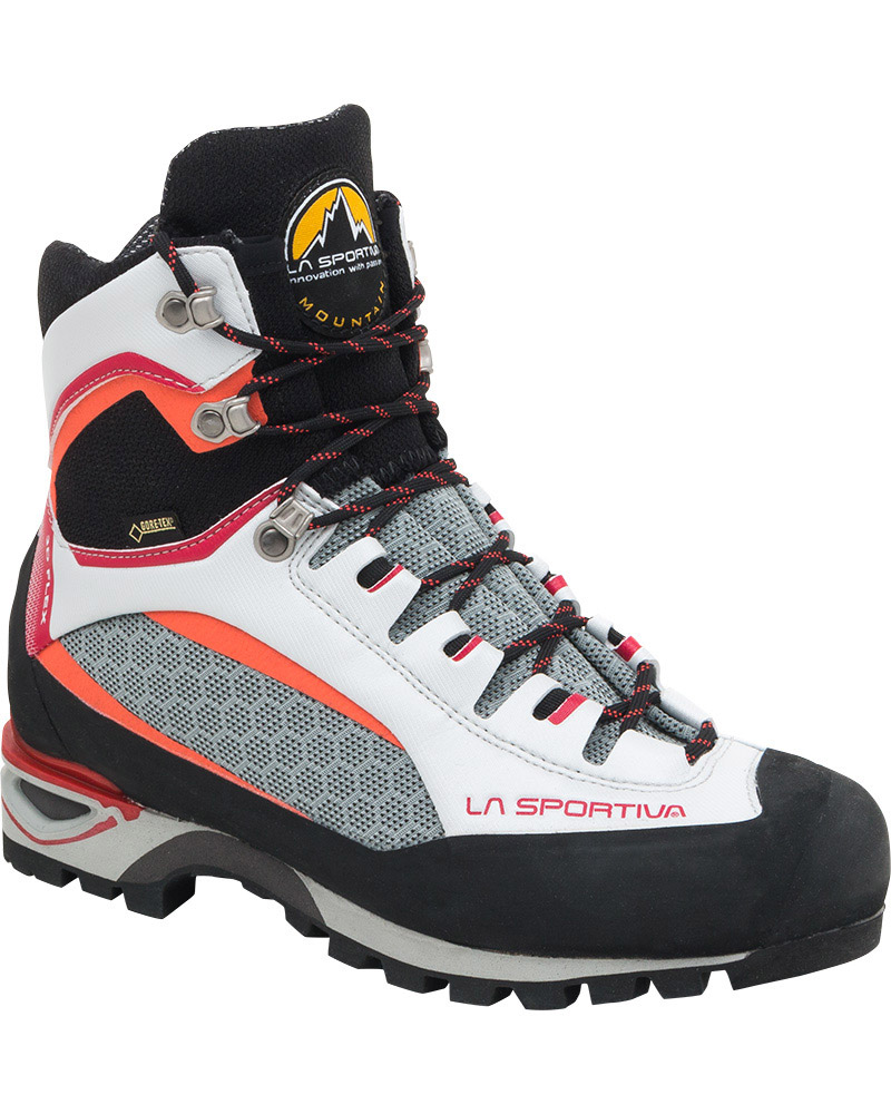 La Sportiva Women's Trango Tower GORE-TEX Mountaineering Boots Light Grey/Berry 0
