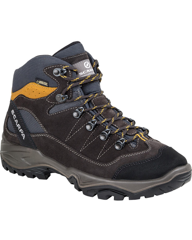 Scarpa Men's Mistral GORE-TEX Walking Boots Anthracite/Senape 0