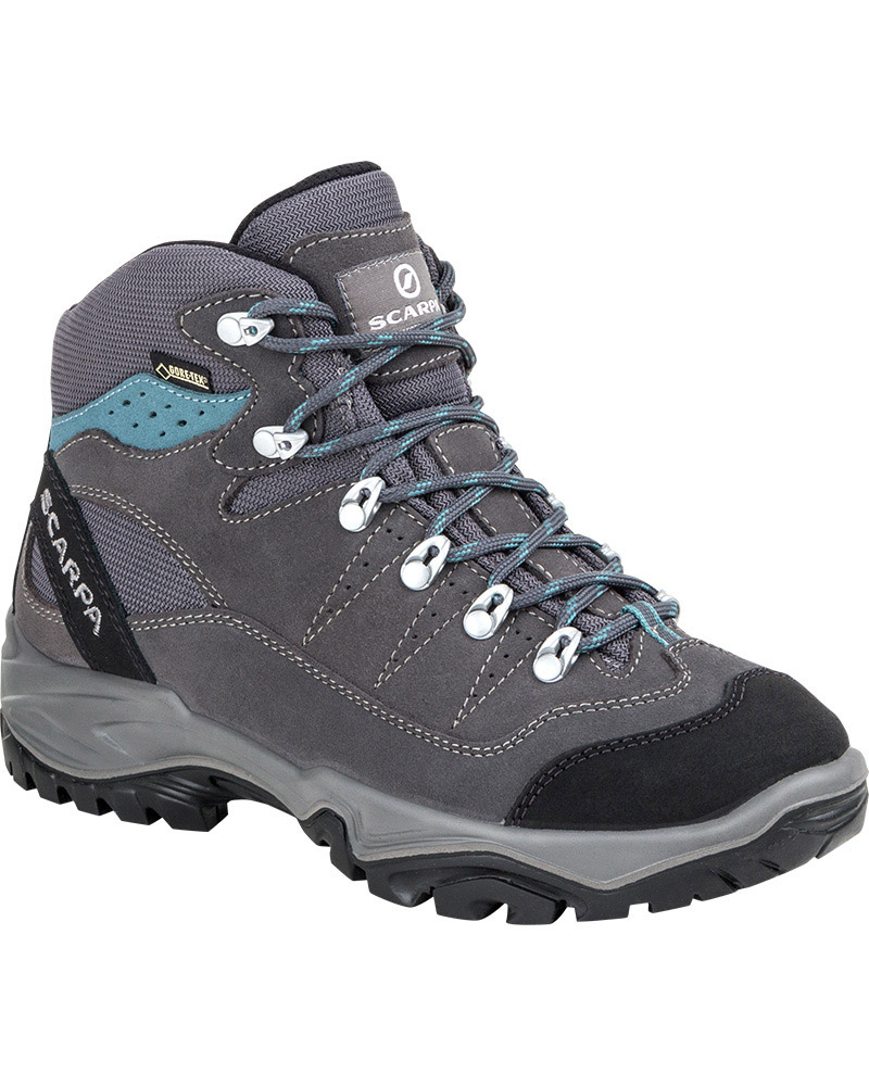 Scarpa Women's Mistral GORE-TEX Walking Boots Smoke/Polar Blue 0
