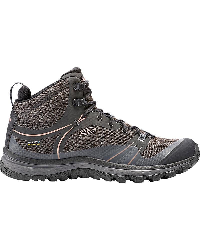 Keen Women's Terradora Mid Waterproof Walking Boots Raven/Rose Dawn 0