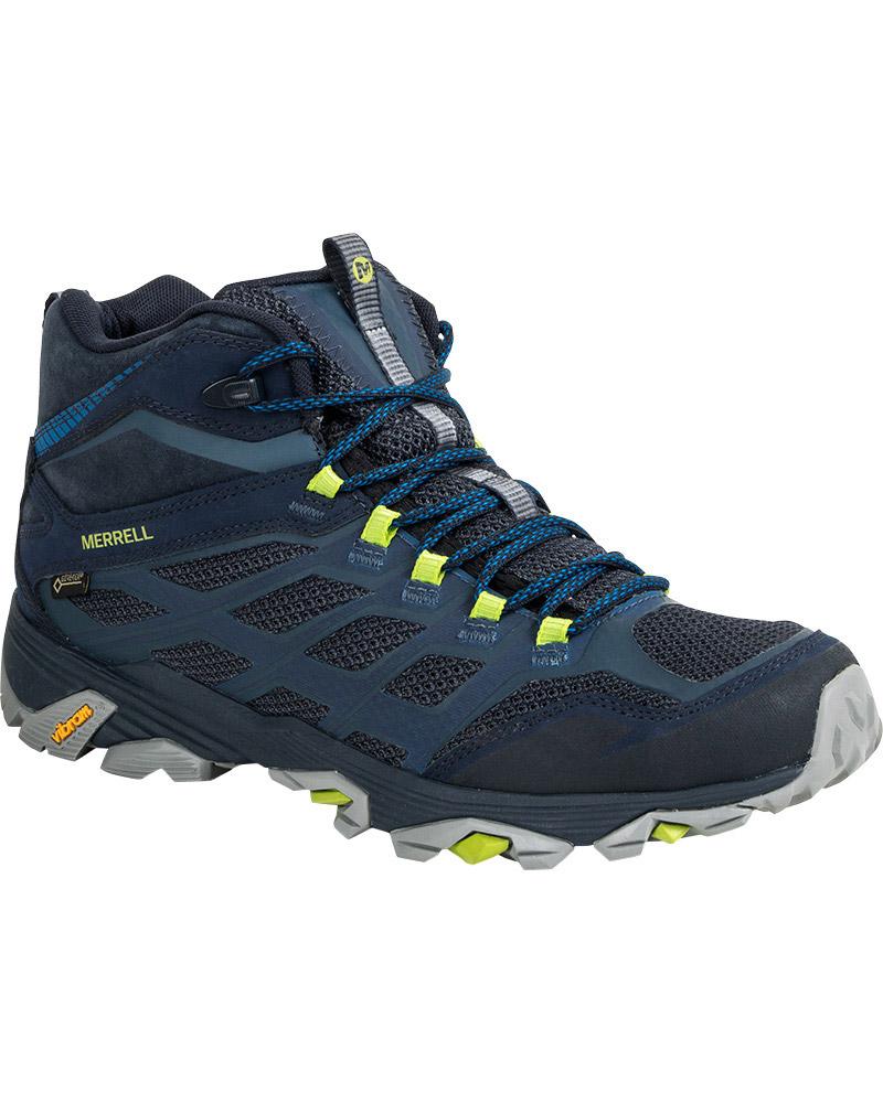 Merrell Men's Moab FST Mid GORE-TEX Walking Boots 0