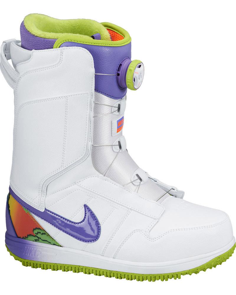 Nike Women's Vapen Boa Snowboard Boots 2014 / 2015 White/Purple 0