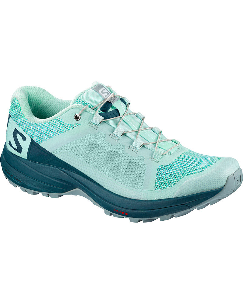 Salomon Women's XA Elevate Trail Running Shoes Beach Glass/Reflecting Pond/Lead 0