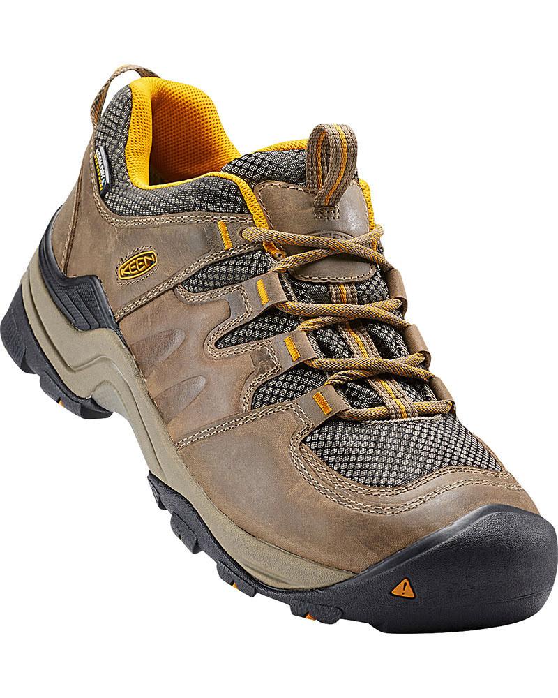 Keen Men's Gypsum Low Waterproof Walking Shoes 0