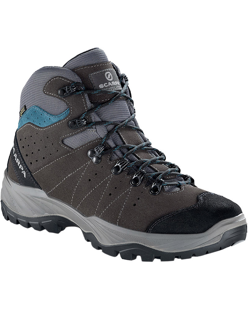 Scarpa Men's Mistral GORE-TEX Walking Boots Smoke/Lake Blue 0
