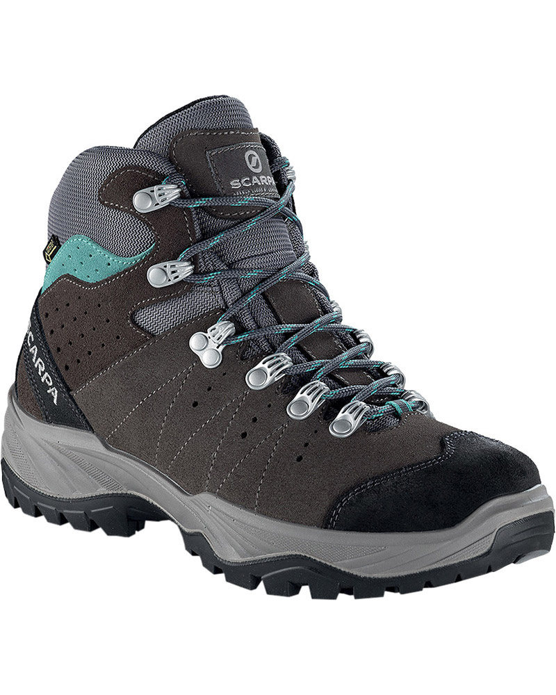 Scarpa Women's Mistral GORE-TEX Walking Boots Smoke/Lagoon 0