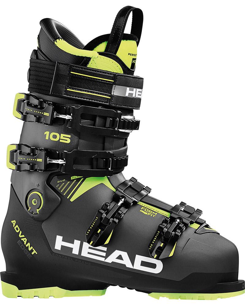 Head Men's Advant Edge 105 Ski Boots 2018 / 2019 Anthracite/Black 0