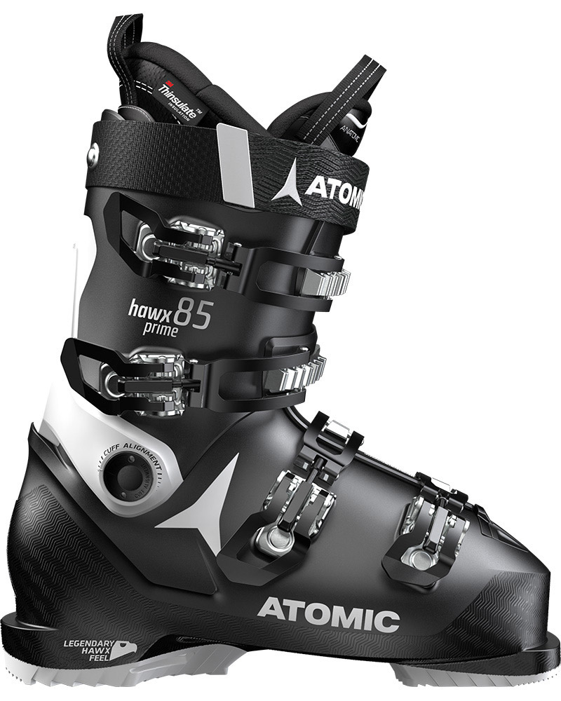 Atomic Women's Hawx Prime 85 W Ski Boots 2019 / 2020 Black/White 0
