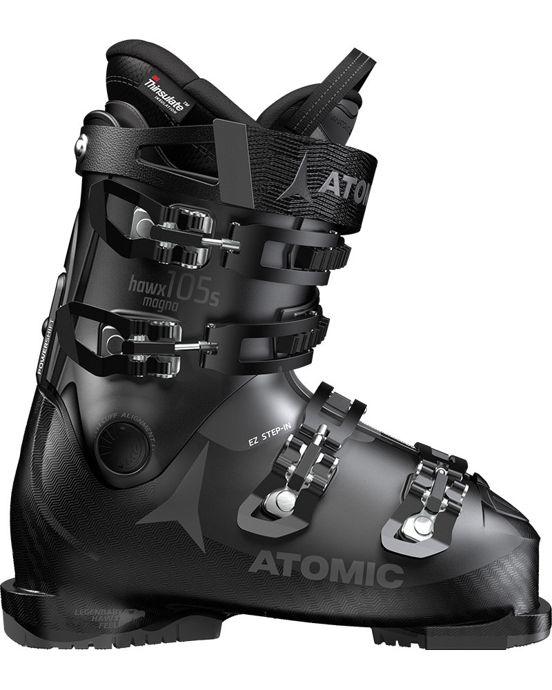 Atomic Women's Hawx Magna 105 S W Ski Boots 2019 / 2020 Black/Anthracite 0