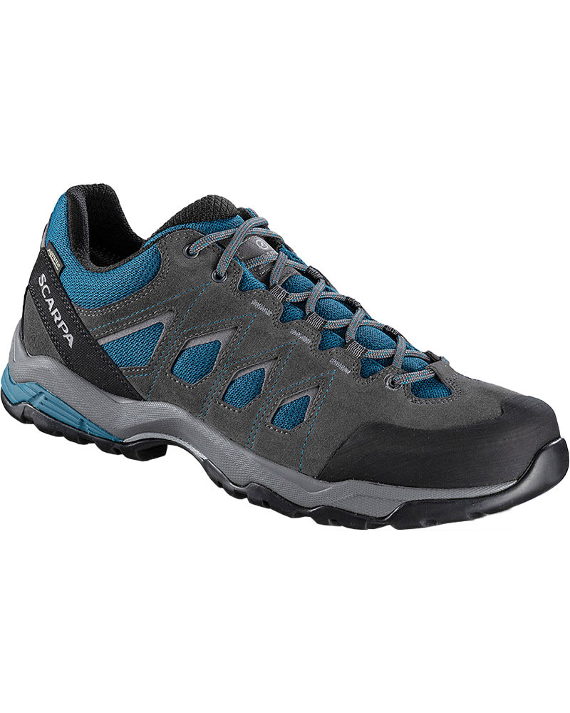 Scarpa Men's Moraine GORE-TEX Walking Shoes Ocean Blue/Storm Grey 0