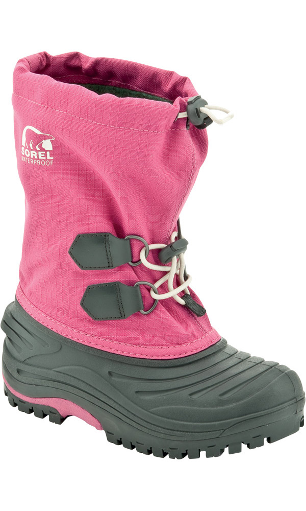 Sorel Kids' Super Trooper Snow Boots Very Pink 0