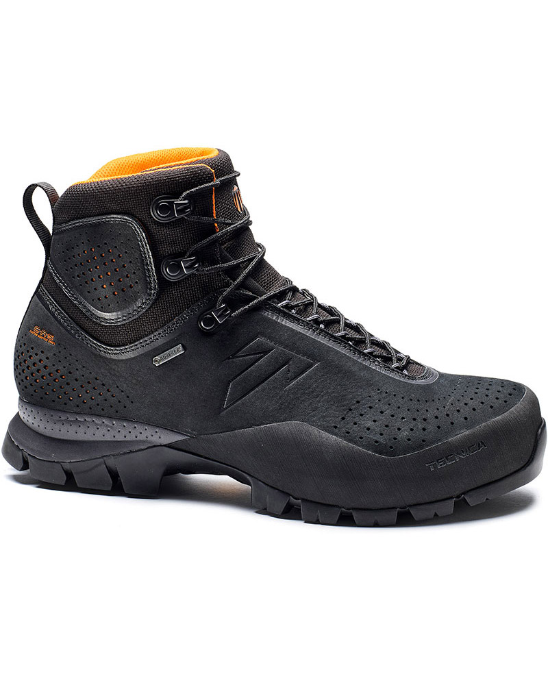 Tecnica Men's Forge GORE-TEX Walking Boots Black/Orange 0