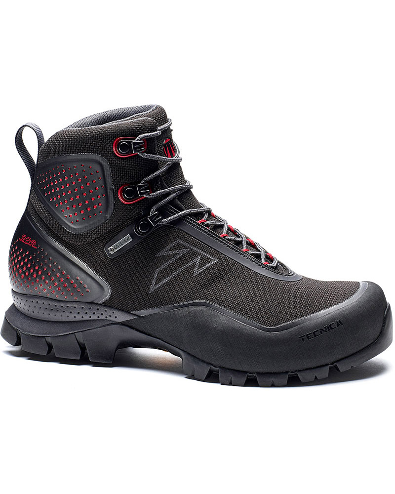 Tecnica Women's Forge S GORE-TEX Walking Boots Black/Jester Red 0