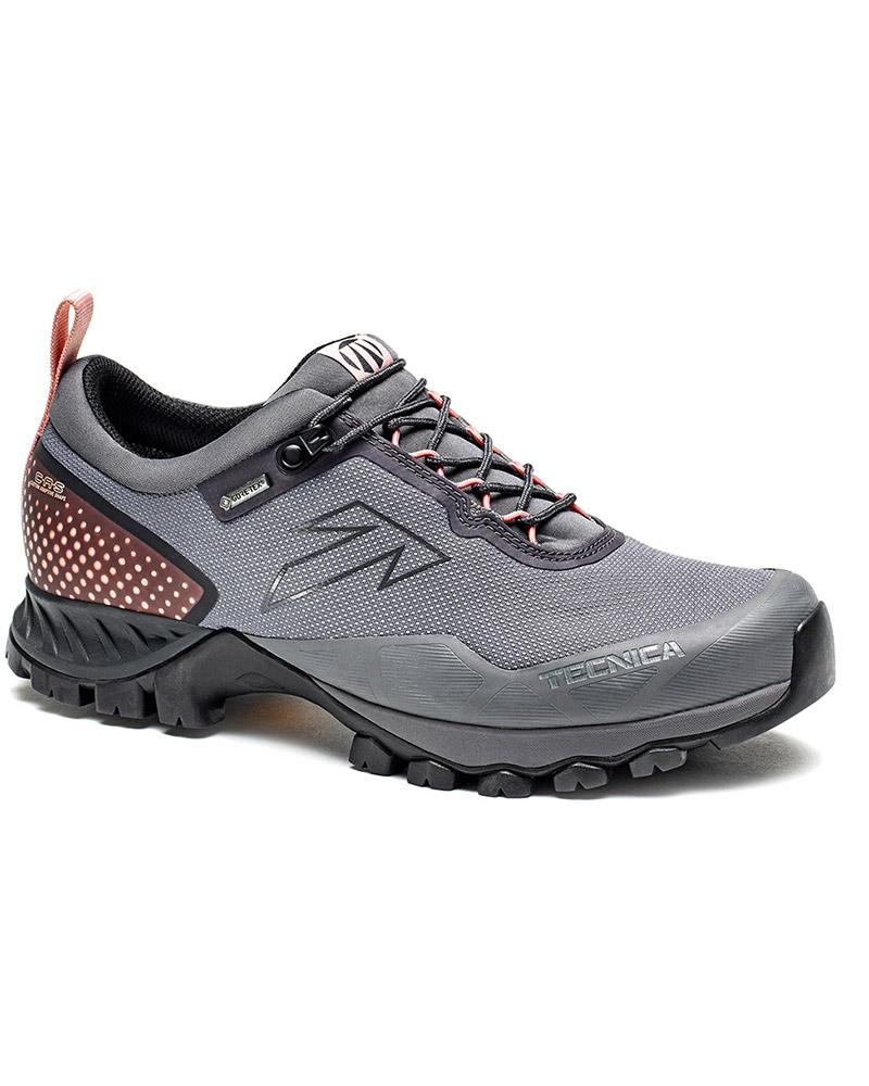Tecnica Women's Plasma S GORE-TEX Walking Shoes Midway Piedra/Cloudy Bacca 0