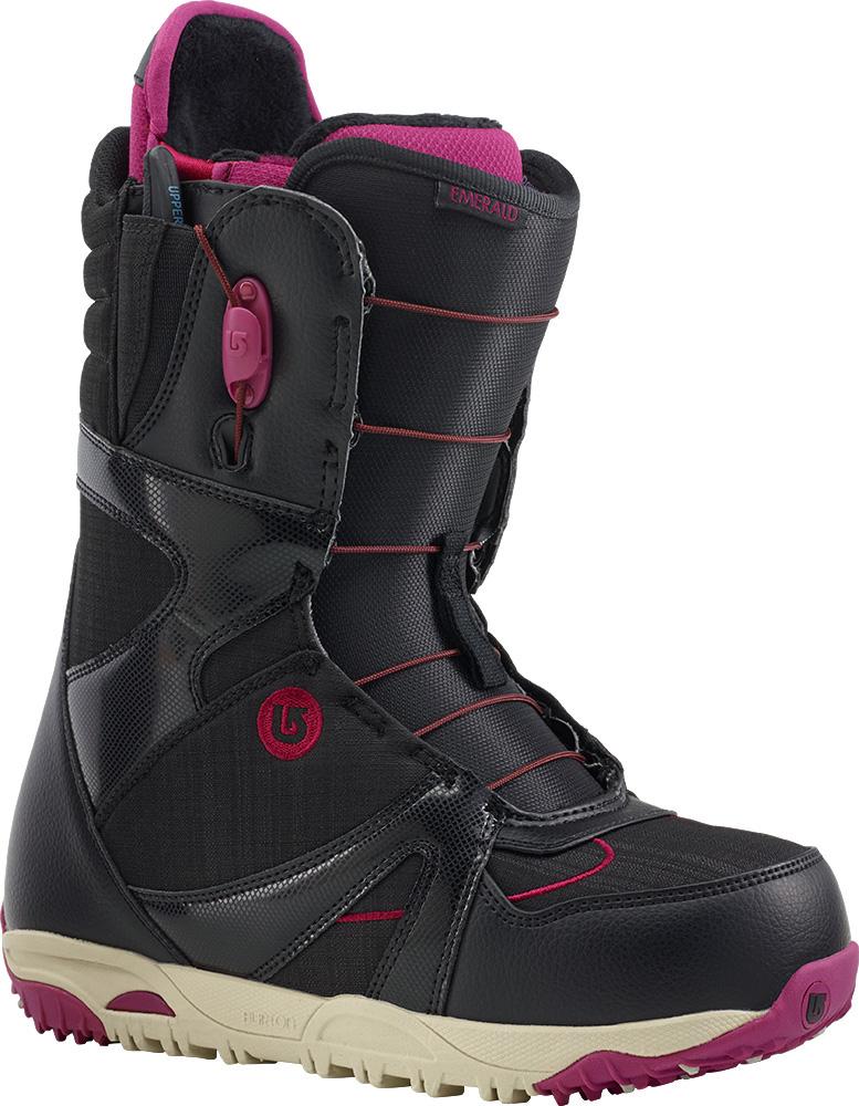 Burton Women's Emerald Snowboard Boots 2014 / 2015 Black/Burg/Cream 0