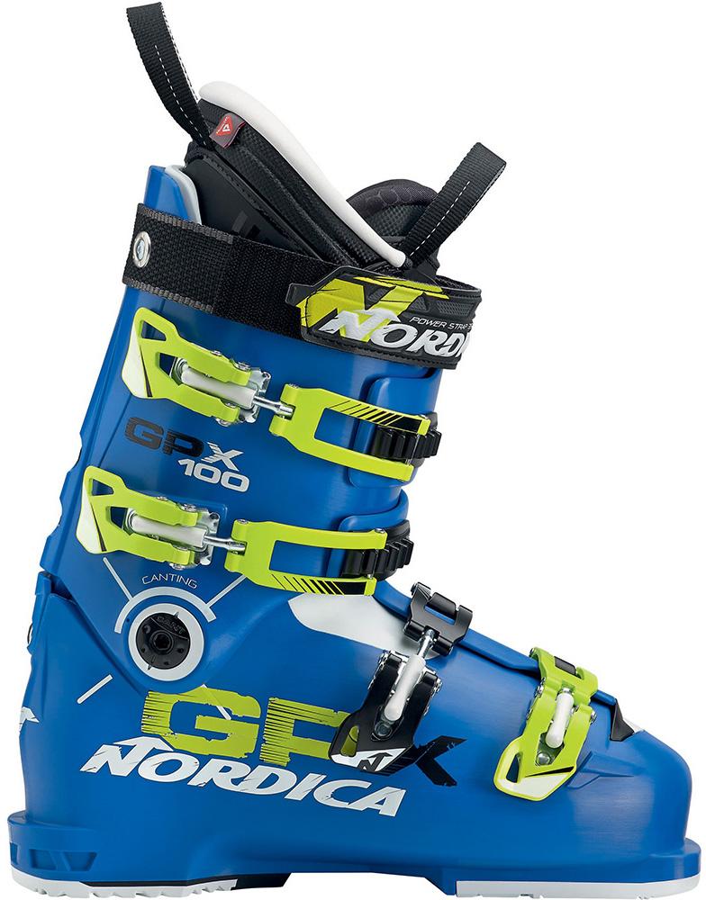 Nordica GPX 100 Ski Boots 2016 / 2017 Blue/yellow 0