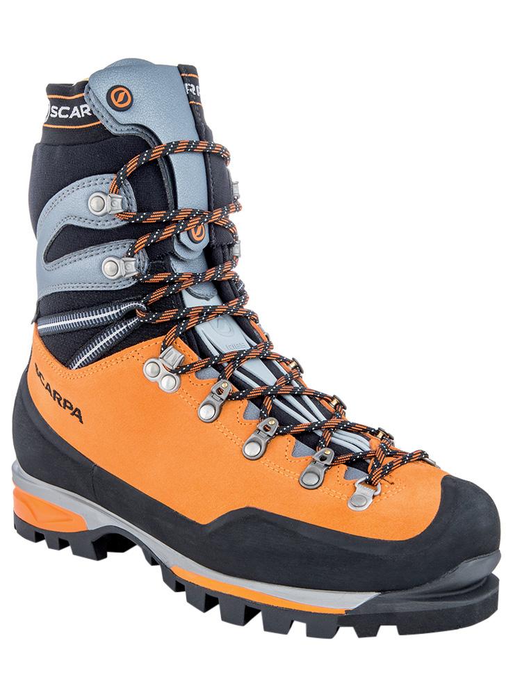 Scarpa Men's Mont Blanc Pro GORE-TEX Mountaineering Boots Orange 0