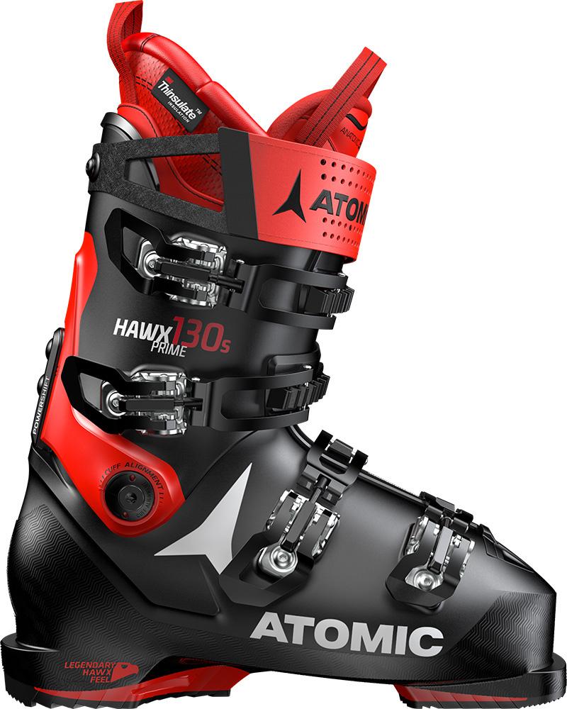 Atomic Men's Hawx Prime 130 S Ski Boots 2019 / 2020 Black/Red 0