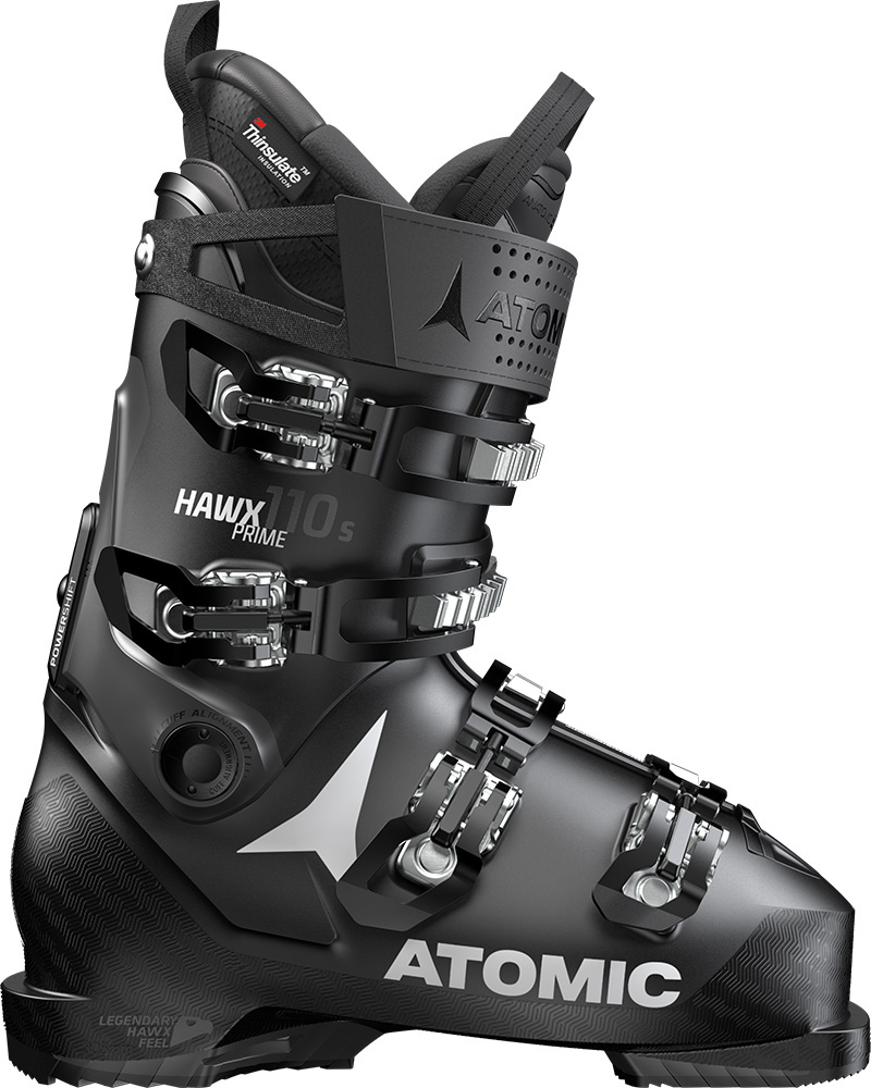 Atomic Men's Hawx Prime 110 S Ski Boots 2019 / 2020 Black/Anthracite 0