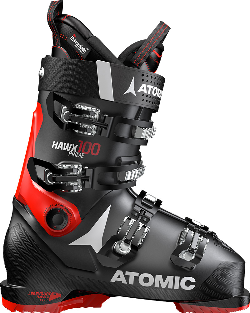 Atomic Men's Hawx Prime 100 Ski Boots 2019 / 2020 Black/Red 0