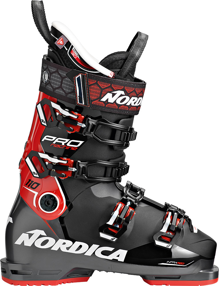 Nordica Men's Promachine 110 Ski Boots 2019 / 2020 Black/White/Green 0