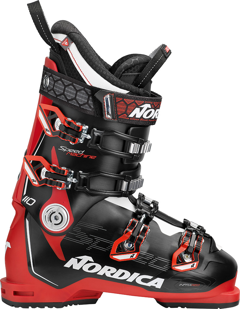 Nordica Men's Speedmachine 110 Ski Boots 2019 / 2020 Black/Red/White 0