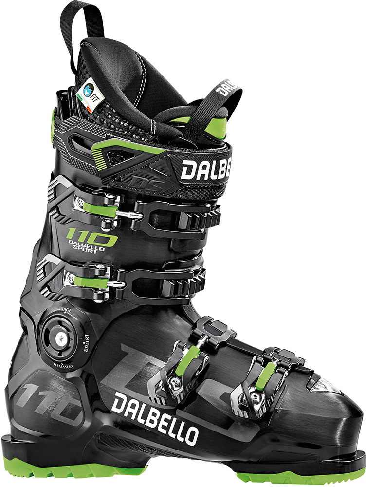 Dalbello Men's DS 110 Ski Boots 2019 / 2020 Black/Black 0