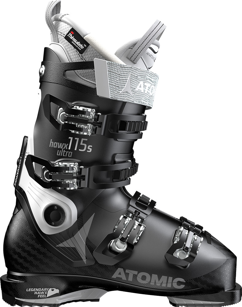 Atomic Women's Hawx Ultra 115 S W Ski Boots 2018 / 2019 Black/White 0