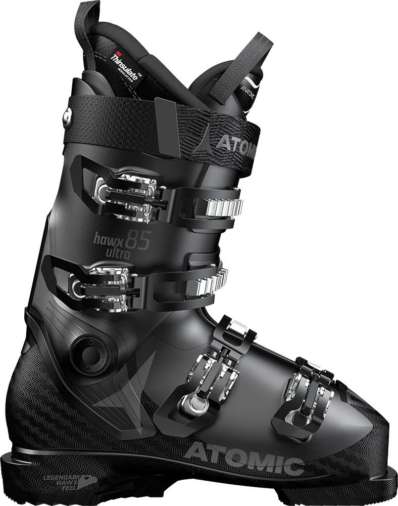 Atomic Women's Hawx Ultra 85 W Ski Boots 2018 / 2019 Black/Anthracite 0
