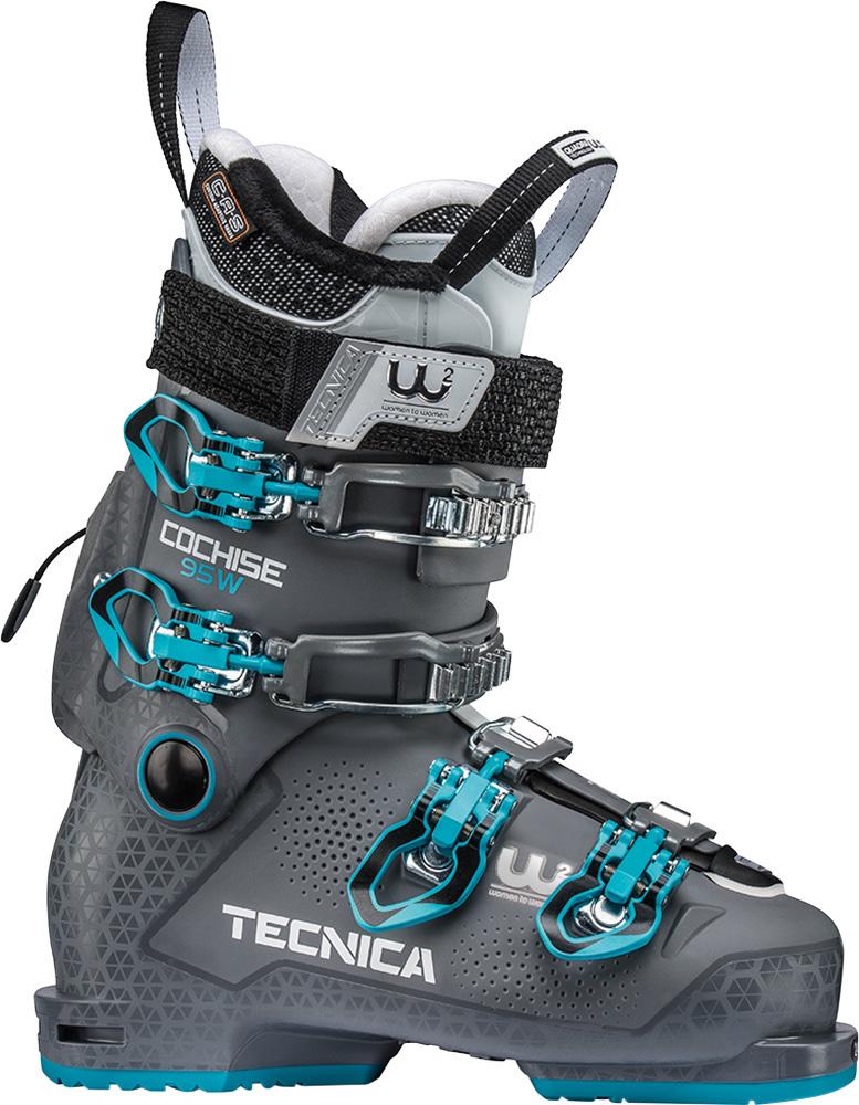 Tecnica Women's Cochise 95 W Ski Boots 2018 / 2019 Sport Grey 0