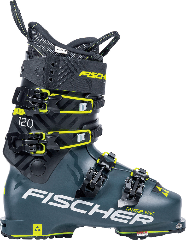 Fischer Ranger Free 120 Walk Vibram, DYN Backcountry Ski Boots 2019 / 2020 Petrol/Black 0