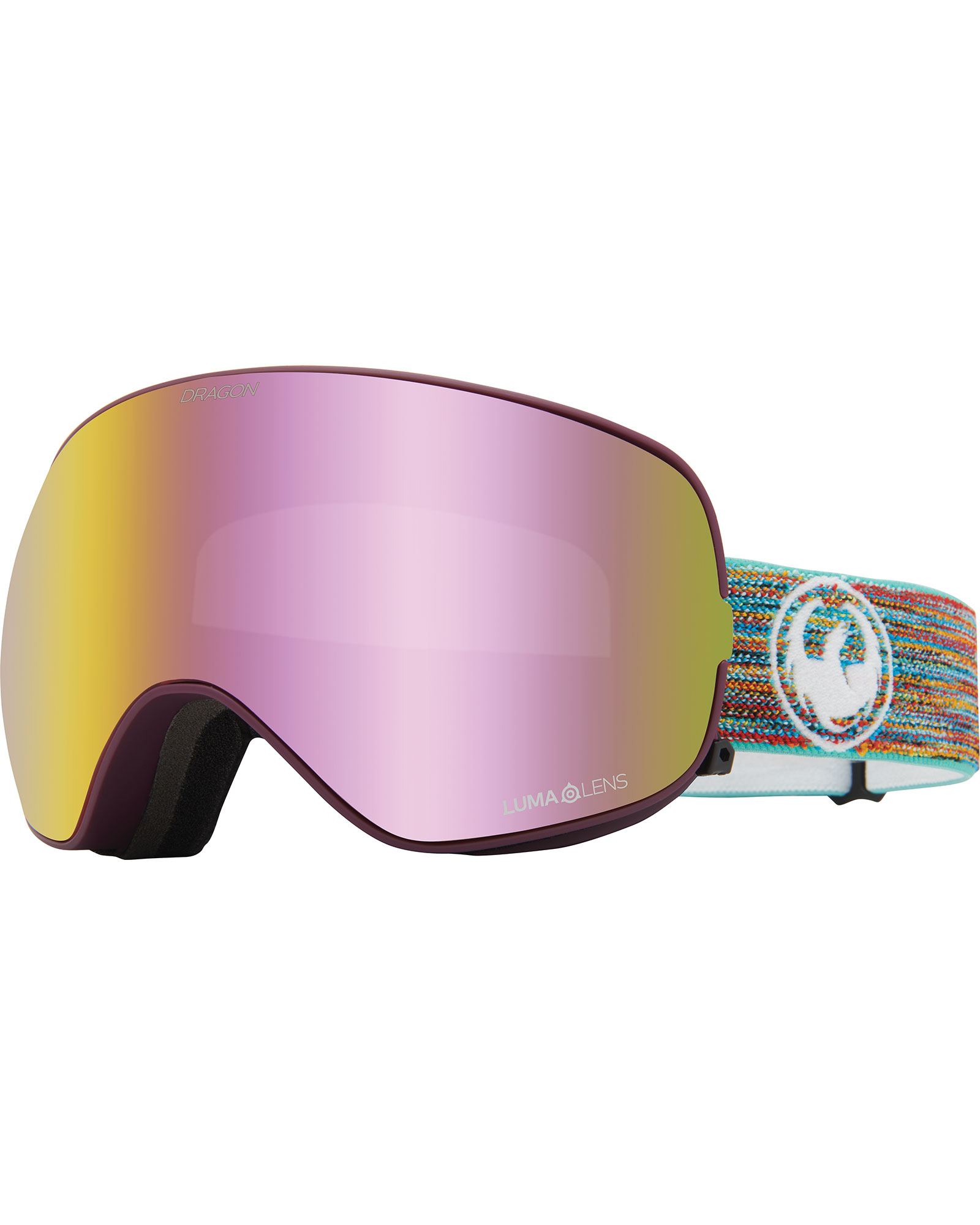 Dragon X2S Shred Together / Lumalens Pink Ionized + Lumalens Dark Smoke Goggles 2020 / 2021 0