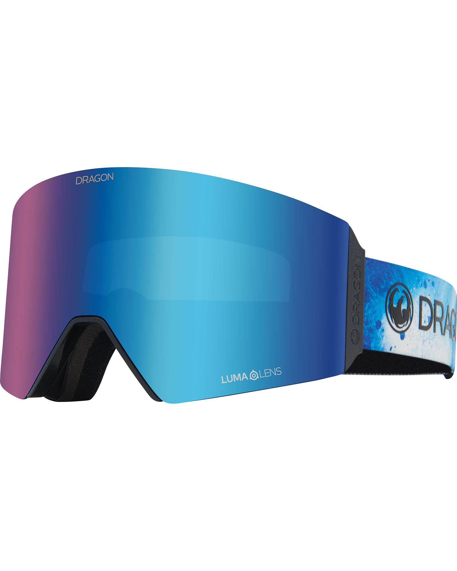 Dragon RVX Permafrost / Lumalens Blue Ionized + Lumalens Amber Goggles 0