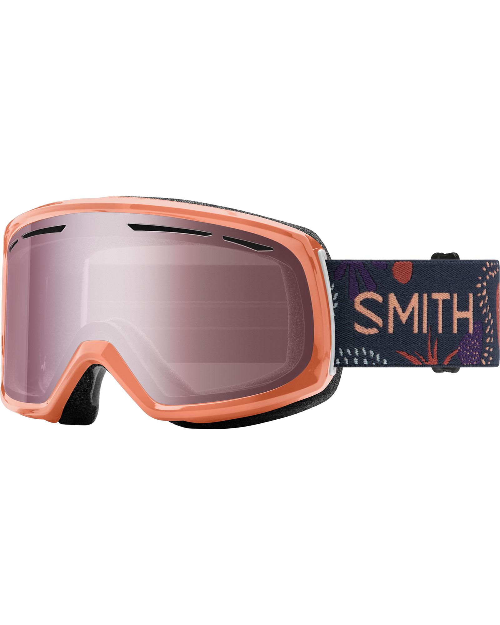 Smith Women's Drift Salmon Bedrock / Ignitor Mirror Goggles 2020 / 2021 0