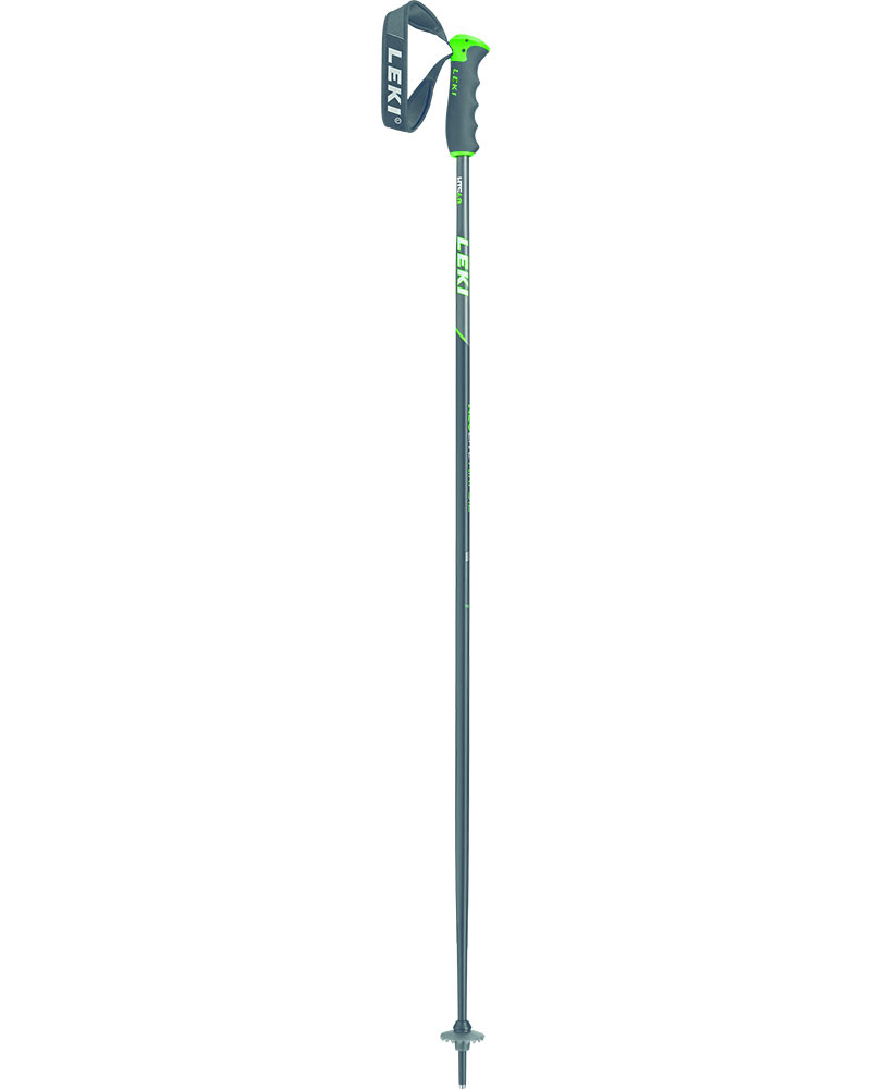 Leki Neolite Airfoil Ski Poles 2019 / 2020 Black Anth/White/Neon Green 0