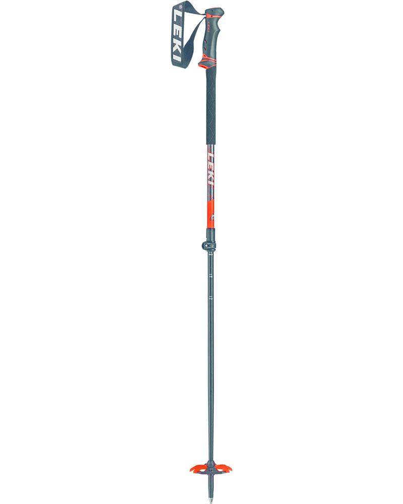 Leki Helicon Lite Ski Poles 2019 / 2020 Anth White/Neon Orange 0