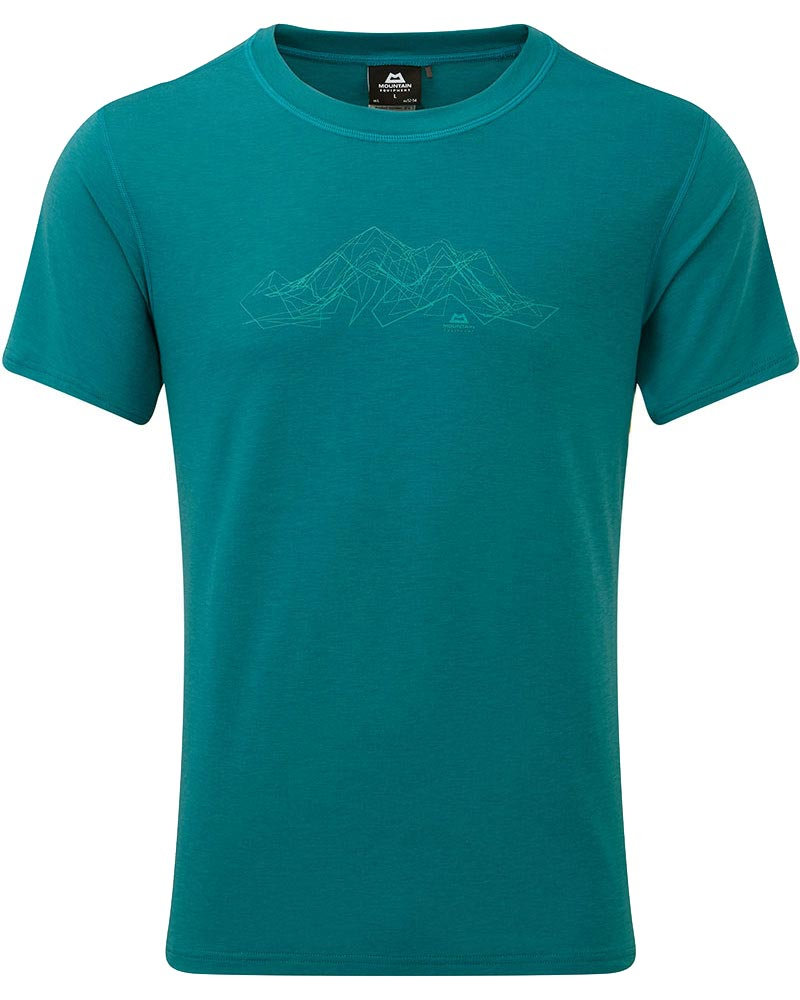 Mountain Equipment Men's S/S Ground Up Mountain T-Shirt 0